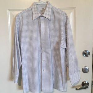 Van Heusen Checker Regular Fit Button Down (A)